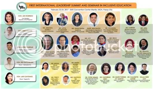 International Leadership Summit in  Inclusive Education #YesToInclusion