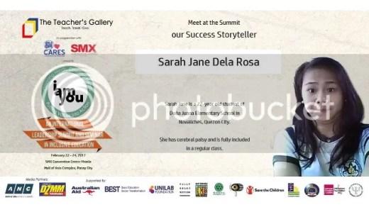 Success Story Teller Sarah Jane