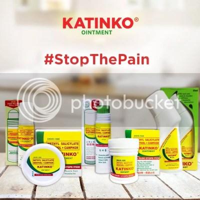 Katinko Painkiller Ointment #StopThePain