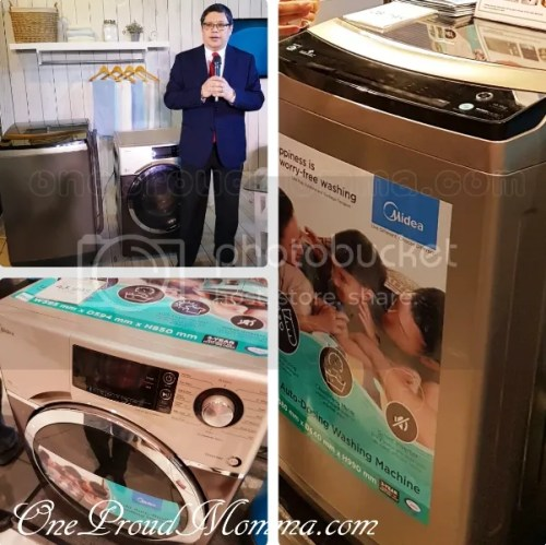 Midea Front Load iAdd Washing Machine