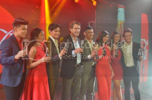 Coca-Cola Taste The Feeling Brand Ambassadors