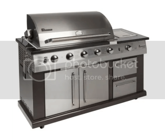 Landmann Avalon 5 Burner Gas BBQ with Infrared Rotisserie