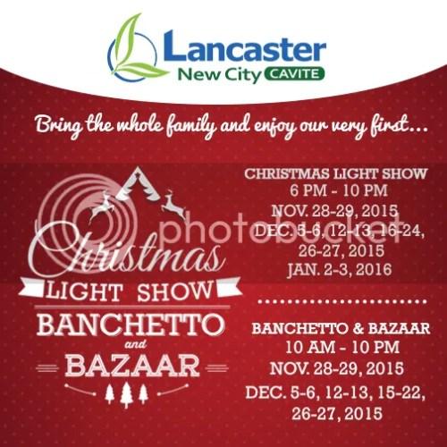 Lancaster New City Imus Cavite Christmas Banchetto and Bazaar
