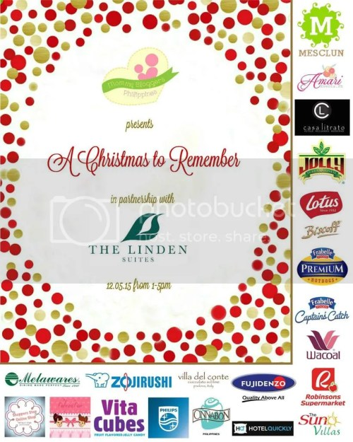 Mommy Bloggers Philippines Christmas Party 2015 Sponsors