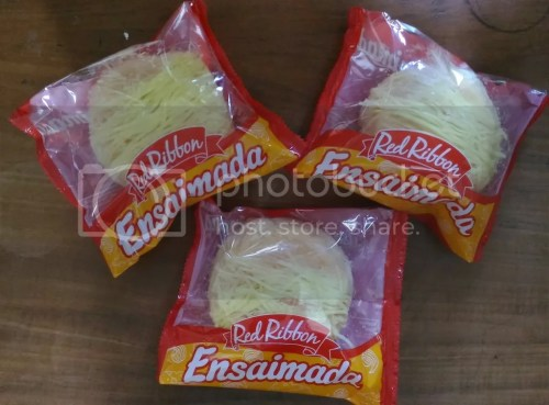 Red Ribbon Cheesy Ensaimada