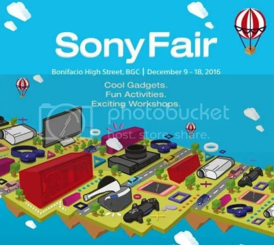 Sony Fair Showcases Flagship Products #SonyPhilippines