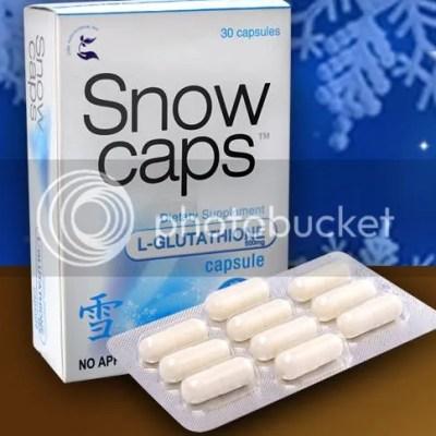Snow Caps Glutathione