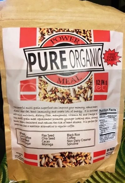 Health & Glamour Pure Organic Power Meal