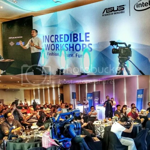 ASUS Incredible Workshop with Jason Magbanua