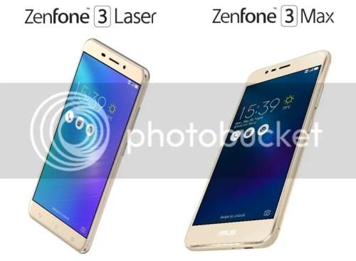 ASUS Zenfone 3 Laser and ASUS Zenfone 3 Max