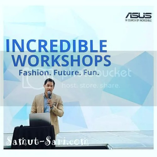 Asus Incredible Workshop Fashion with Victor Basa