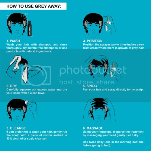 Grey Away Anti-Grey Hair Treatment