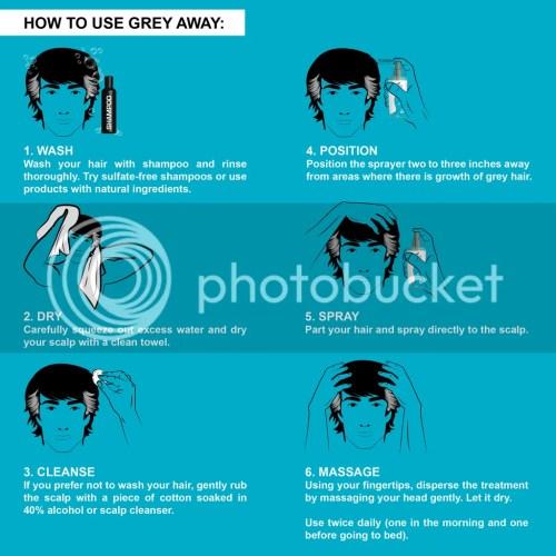 Grey Away Anti-Grey Hair Treatment