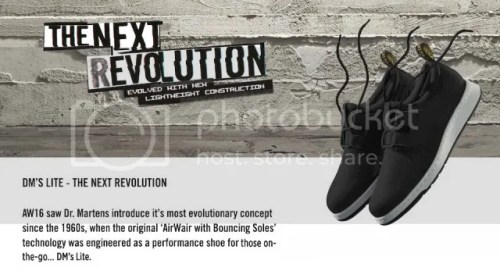 Dr. Martens Launched DM's Lite #StandForSomething
