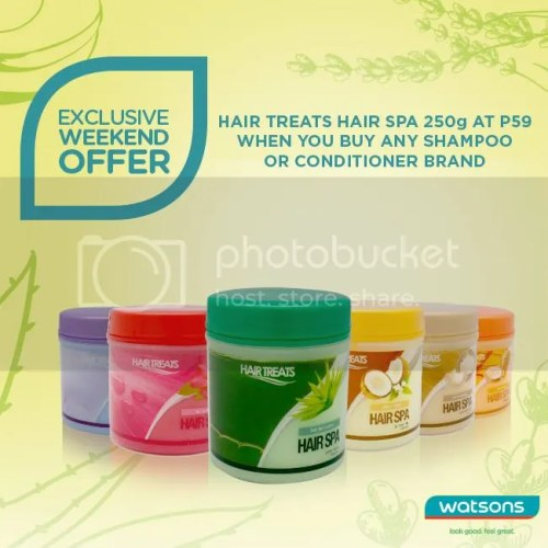 Watsons Hair Treats Promo