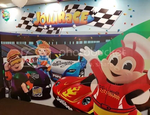 Jollibee: New JolliRace Party Theme