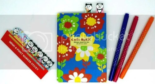 DAISO Stationery set