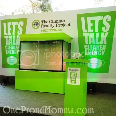 The Climate Reality Project Philippines Let's Talk Cleaner Energy Campaign