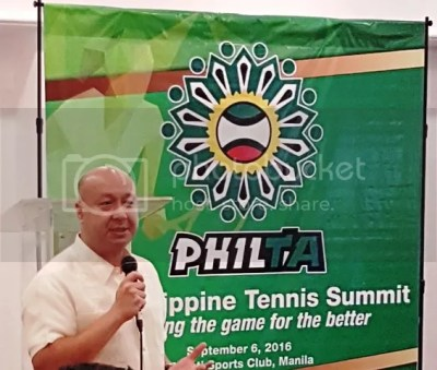 Philippine Tennis Summit Jean Henri Lhuillier