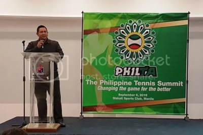 Philippines Tennis Summit President Randy Villanueva