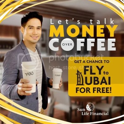 SunLife: Coffee Date with Piolo Pascual Can Win You A Trip to Dubai!
