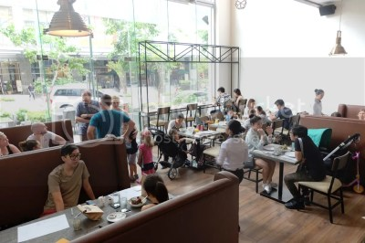 Bondi & Bourke Now Open at Burgos Circle Bonifacio Global City