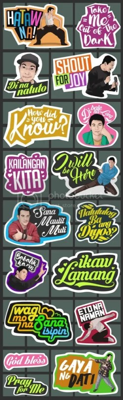 GVonViber Sticker Pack featuring Gary Valenciano
