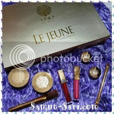 #UNOPremier Le Jeune Cosmetiques with 24K Gold Microparticles