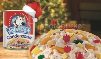Fiesta Fruit Salad with Jolly Cow Condensada
