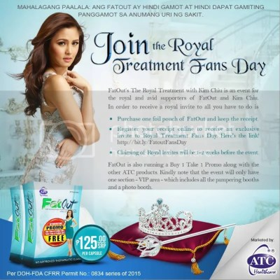 ATC FatOut Royal Treatment Fans Day Kim Chiu