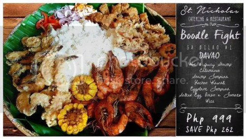 St. Nicholas Catering and Restaurant Boodle Fight sa Bilao Set 1 on SALE!