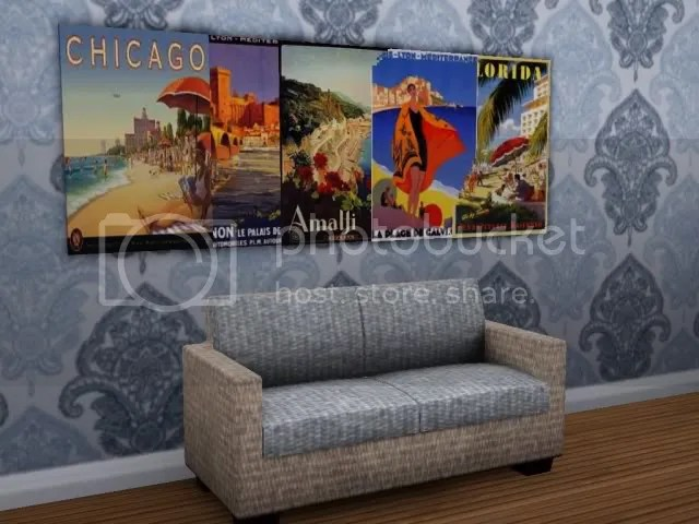 Summer Themed Vintage Travel Posters
