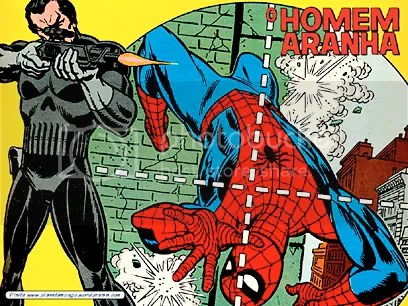 Justiceiro X Homem-Aranha - Clique aqui para fazer o DOWNLOAD DESTE WALLPAPER