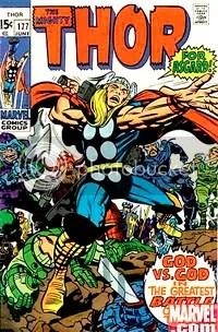 The Mighty Thor #177 - Clique para ampliar