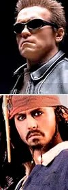 T-850 e Jack Sparrow