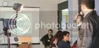Eduardo, durante a aula