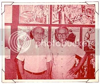 Adolfo Aizen e Monteiro Filho