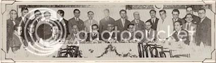 Herbert Moses presente ao jantar em homenagem a Adolfo Aizen