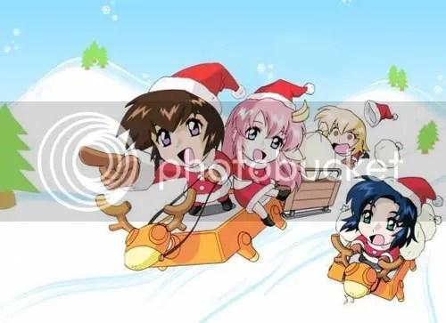 A Gundam SEED Christmas!