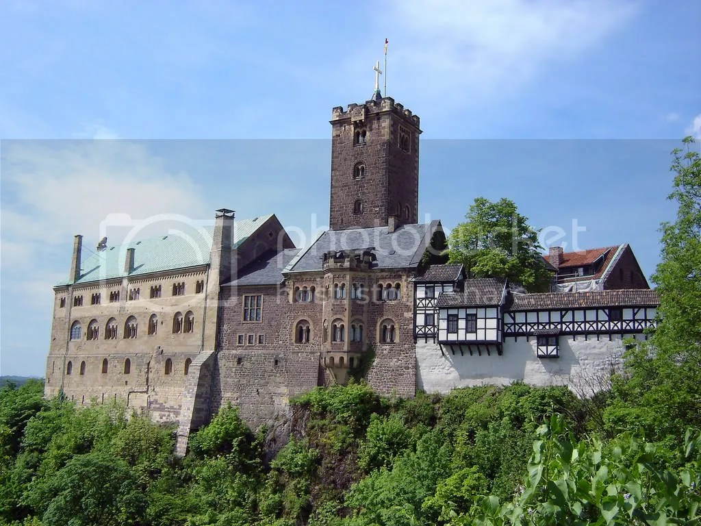 WartburgCastle.jpg Wartburg Castle picture by AngloLuterano