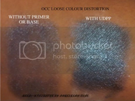 occ loose colour distortion