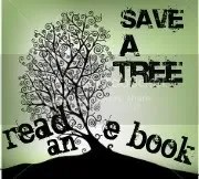 Save a Tree – Read an e-book Button