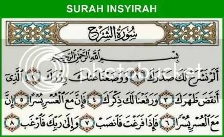 Surah Insyirah