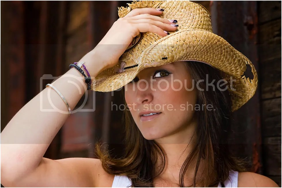 photo Beautiful-Cowgirl-with-Straw-Hat.jpg