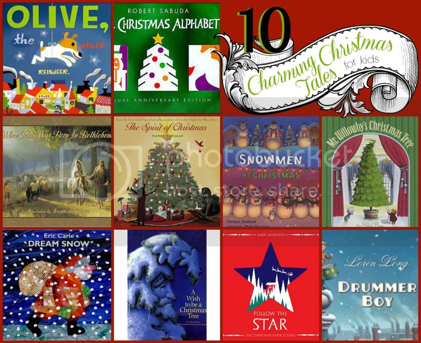Themed books can help the holidays come alive for kids! Of course there are the classics - Twas The Night Before Christmas, How the Grinch Stole Christmas, The Polar Express - but if you're looking for a few fresh Christmas Stories to update your holiday library, here are 10 Christmas Stories via @tipsaholic #christmas #kids #story #stories