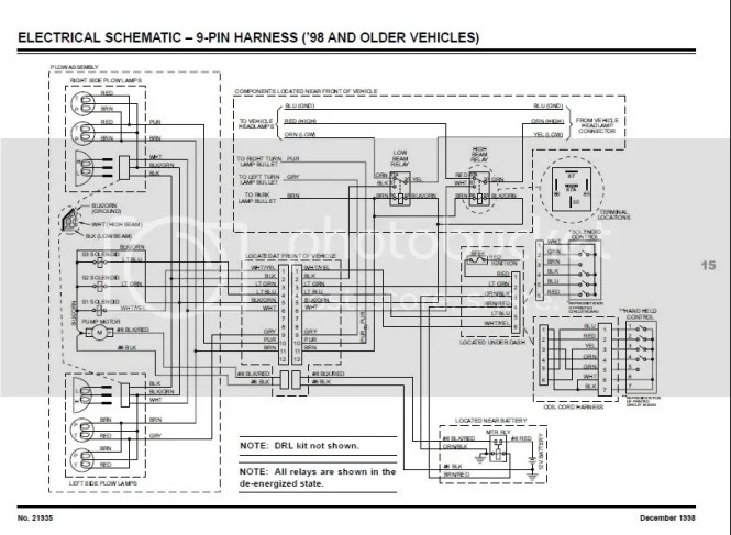 Wiring Diagram For Minute Mount 2 Fisher Plow – powerkingco