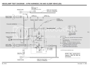 Fisher MM1 Plow Lights Not Switching Over | PlowSite