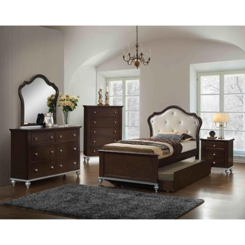 5 piece allison twin panel bedroom set