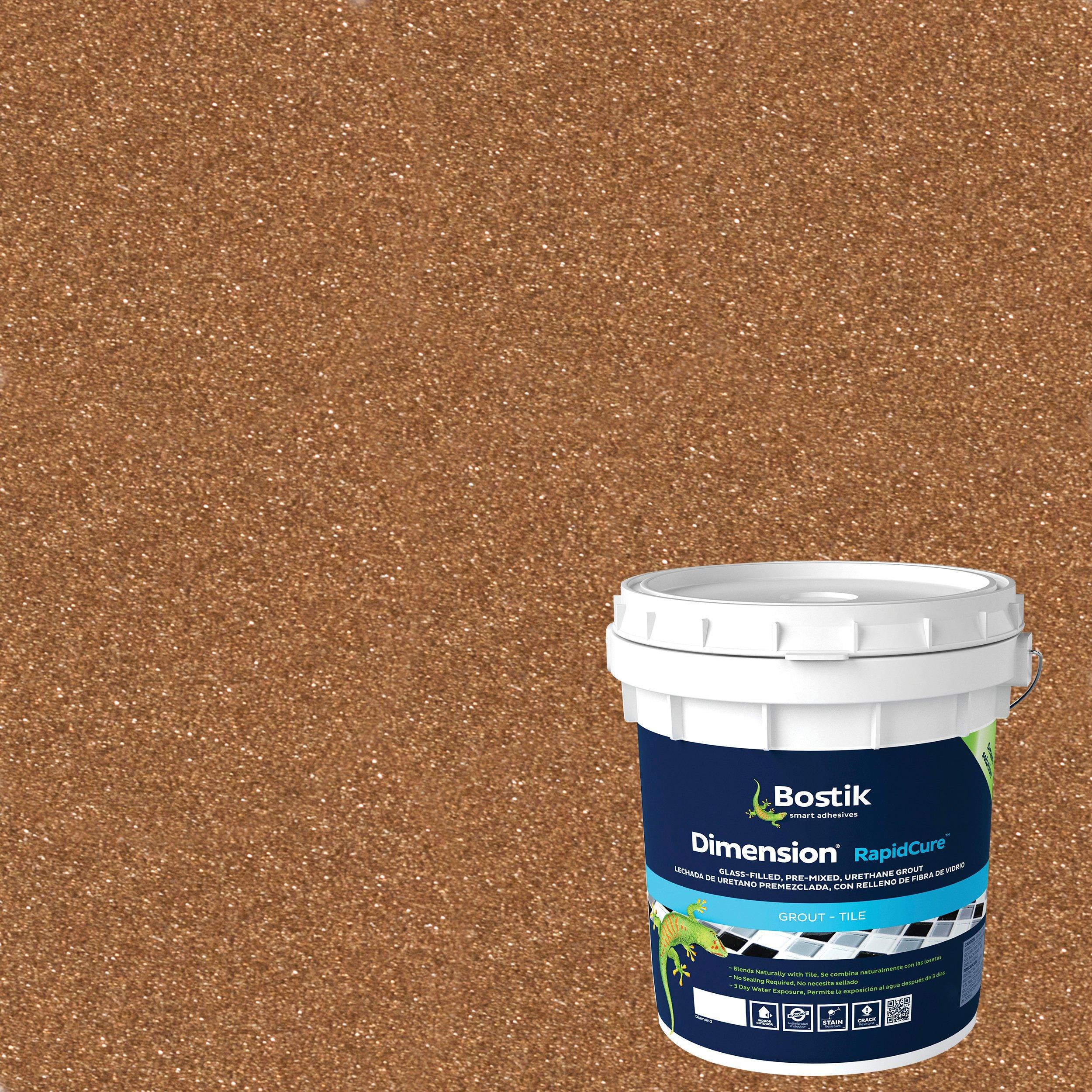 bostik dimension copper pre mixed glass filled grout