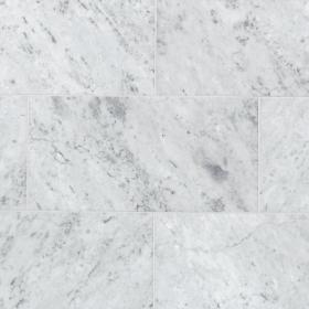carrara marble floor decor